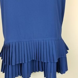 Q&A Tops - 😀CCO! Q&A Sleeveless Double Pleated Tank